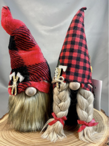 Gnome stuffed figure